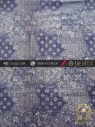 Kain Batik Monokromatik Cap Motif Sekarjagad Abu-Abu