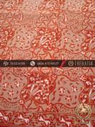 Batik Cap Tulis Motif Sekar Kelir Jingga