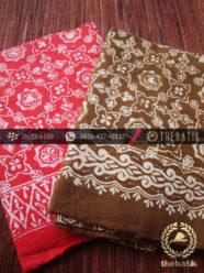 Harga Kain Batik Murah / Paket Kain Batik Coklat Merah