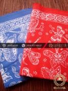 Harga Kain Batik Murah / Paket Kain Batik Merah Biru