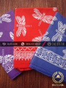 Harga Kain Batik Murah / Paket Batik Ungu Merah Biru