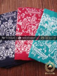 Harga Kain Batik Murah / Paket Batik Hitam Merah Tosca