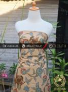 Batik Soga Genes Solo Motif Buket Coletan Biru