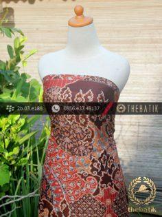 Bahan Kemeja Batik Sutera Motif Megamendung