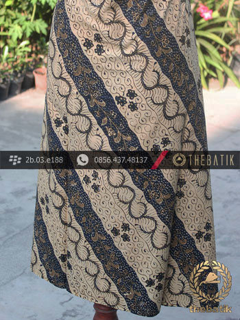 Batik Tulis Pesisiran Motif Lereng Lawasan