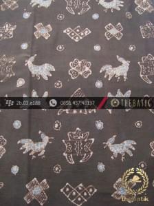 Kain Batik Tulis Warna Alam Motif Ayam Puger