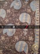 Kain Batik Tulis Warna Alam Motif Keong