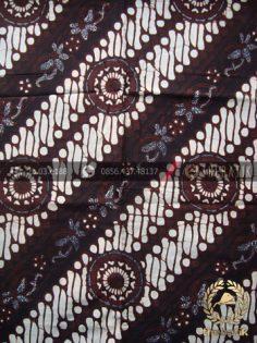 Kain Batik Klasik Jogja Motif Parang Gendreh Seling