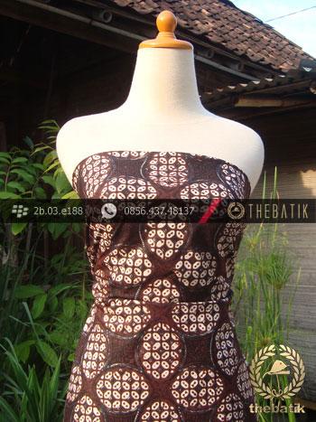 Batik Klasik Jogja Motif Ceplok Kawung Picis