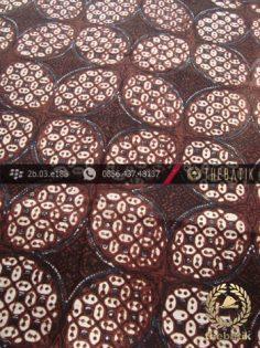 Kain Batik Klasik Jogja Motif Ceplok Kawung Picis