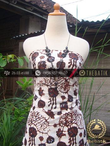 Batik Klasik Jogja Motif Ceplok Sogan Putih