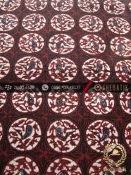 Batik Klasik Jogja Motif Ceplok Bola Sogan