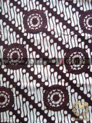 Batik Klasik Jogja Motif Parang Gendreh Bintang