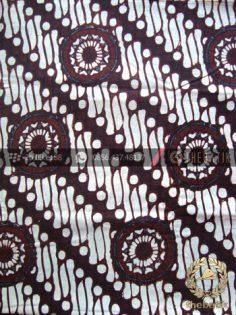 Kain Batik Klasik Jogja Motif Parang Gendreh Bintang