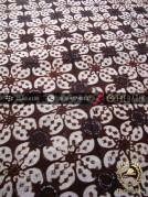 Batik Klasik Jogja Motif Kembang Kawung Titik