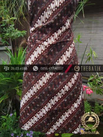 Kain Batik Klasik Jogja Motif Parang Gondosuli