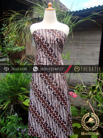 Batik Klasik Jogja Motif Parang Curigo Gede