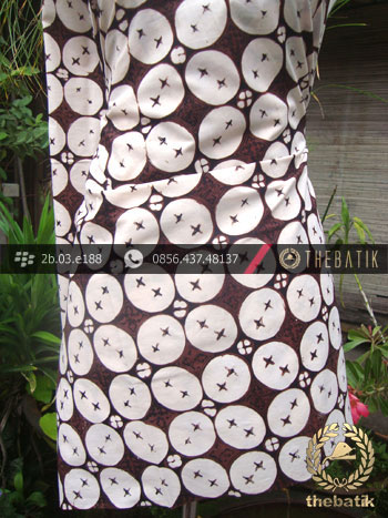 Batik Klasik Jogja Motif Kawung Beton
