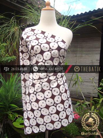 Batik Klasik Jogja Motif Kawung Beton | THEBATIK.co.id