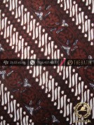 Batik Klasik Jogja Motif Parang Seling Kembang Bulet