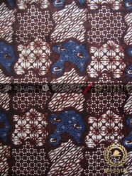 Batik Klasik Jogja Motif Sekarjagad Sogan