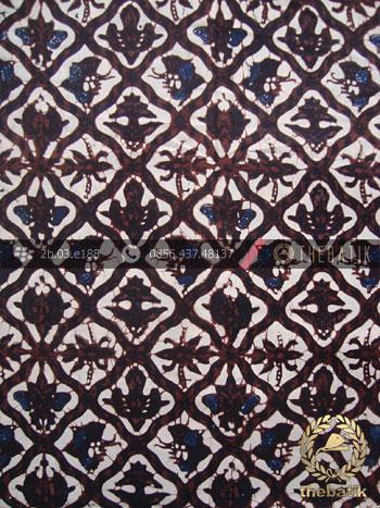 Batik Klasik Jogja Motif Sido Luhur Sogan