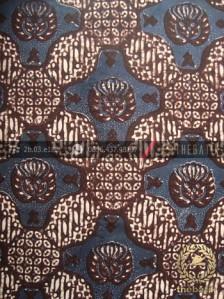 Batik Klasik Jogja Motif Gurdo Besek Biru