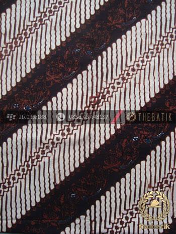Kain Batik Klasik Jogja Motif Parang Baris Seling