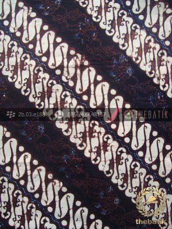 Kain Batik Klasik Jogja Motif Parang Centhung Seling
