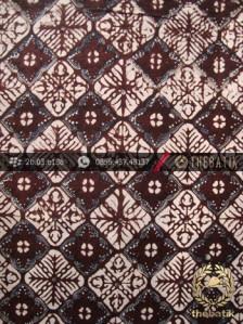 Batik Klasik Jogja Motif Nithik Kotak Sogan