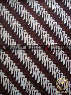Kain Batik Klasik Jogja Motif Parang Canthel