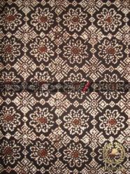 Batik Klasik Jogja Motif Jarak Kepyar Sogan