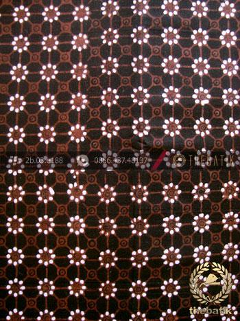 Batik Klasik Jogja Motif Truntum Sogan