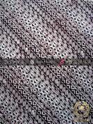 Batik Klasik Jogja Motif Udan Liris Sogan