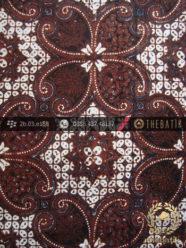 Batik Klasik Jogja Motif Lereng Wirasat Kembang