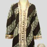 Jahit Baju Batik Wanita - Blouse Bordir Klasik