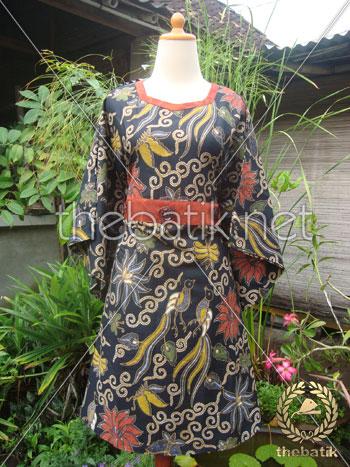Jahit Baju Batik Wanita - Blouse Obi