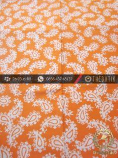 Batik Cap Jogja Motif Keong Kuning