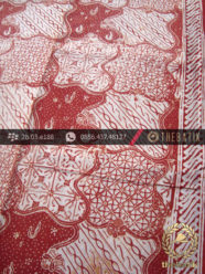 Batik Cap Jogja Motif Sekarjagad Jingga