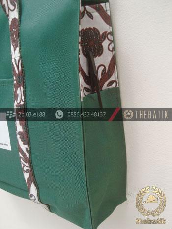 Tas Seminar Batik Eksklusif Hijau