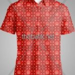 Pesan Batik Motif Sendiri - Design Seragam Batik Custom 3 Warna : Marun, Merah, Kuning Keemasan
