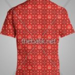 Pesan Batik Desain Sendiri - Design Seragam Batik Custom 3 Warna : Marun, Merah, Kuning Keemasan