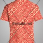Pesan Batik Motif Sendiri - Design Seragam Batik Custom 2 Warna : Merah, Kuning