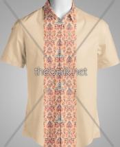 Batik Seragam Desain Sendiri - Design Seragam Batik Custom 3 Warna : Merah, Biru, Krem