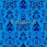 Pesan Kain Motif Sendiri - Design Seragam Batik Custom 3 Warna : Biru Muda, Biru Tua, Hitam