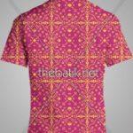Order Pembuat Batik Seragam - Design Seragam Batik Custom 2 Warna : Ungu, Kuning