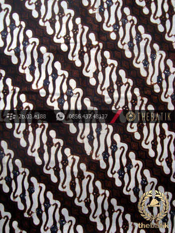 Batik Klasik Jogja Motif Parang Centhung Sogan