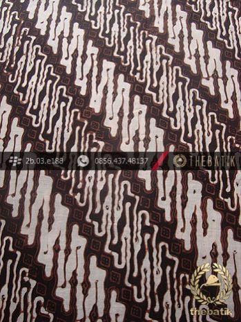 Kain Batik Klasik Jogja Motif Parang Curigo Seling