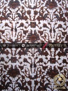 Batik Klasik Jogja Motif Semen Baru Sogan