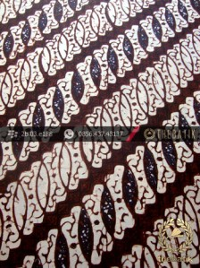 Batik Klasik Jogja Motif Parang Tulang